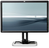 HP Dreamcolor LP2480zx Professional LCD IPS Monitor Fornt