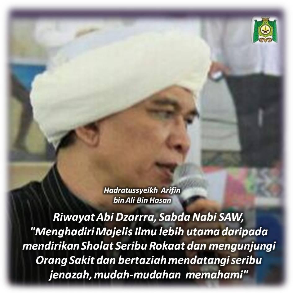 Artikel Hadratussyeikh Arifin Bin Ali Bin Hasan Upload 4 Juni 2015