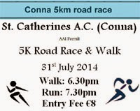 5k race in NE Cork