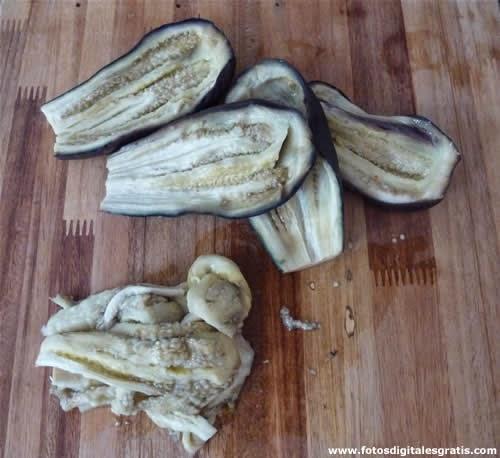 bijes de berenjena para cocinar natural
