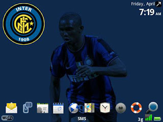 Tema BlackBerry 8520 Inter Milan Download Tema BlackBerry 8520 Gratis 2012