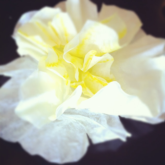 Yellow DIY flower