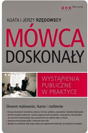 """Okładka książki """"Mówca doskonały"""" Agaty i Jerzego Rzędowskich"""