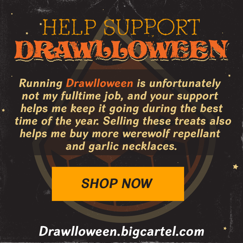 SUPPORT DRAWLLOWEEN