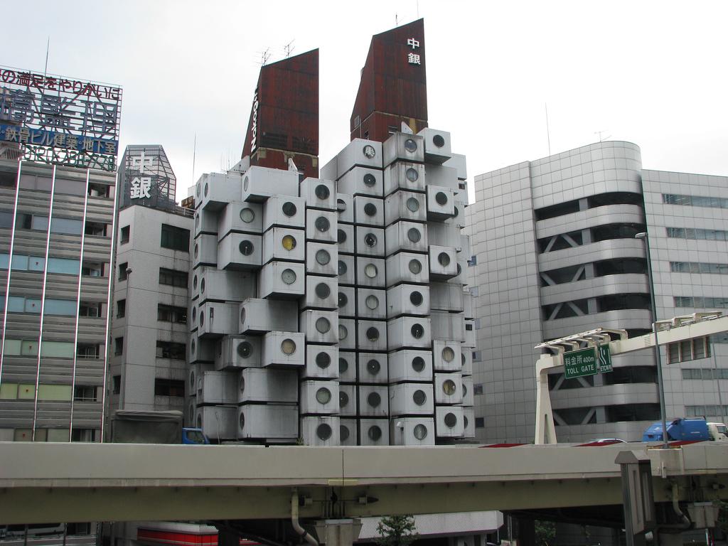 Nakagin capsule tower tokyo interior home design for Architecture tokyo