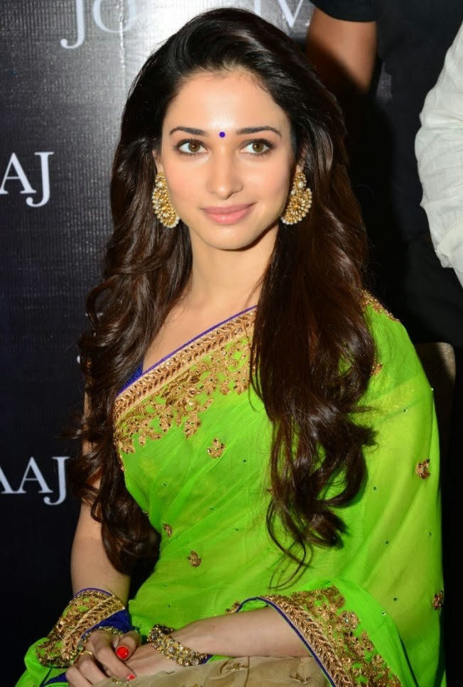Download hot wallpapers of Tamanna in Saree and also find more hot and ...
