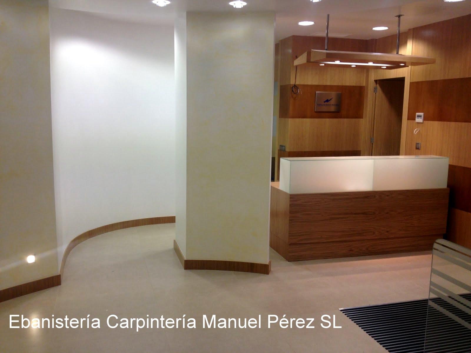 Ebanisteria carpinteria manuel perez zaragoza for Carpinteria interior de madera