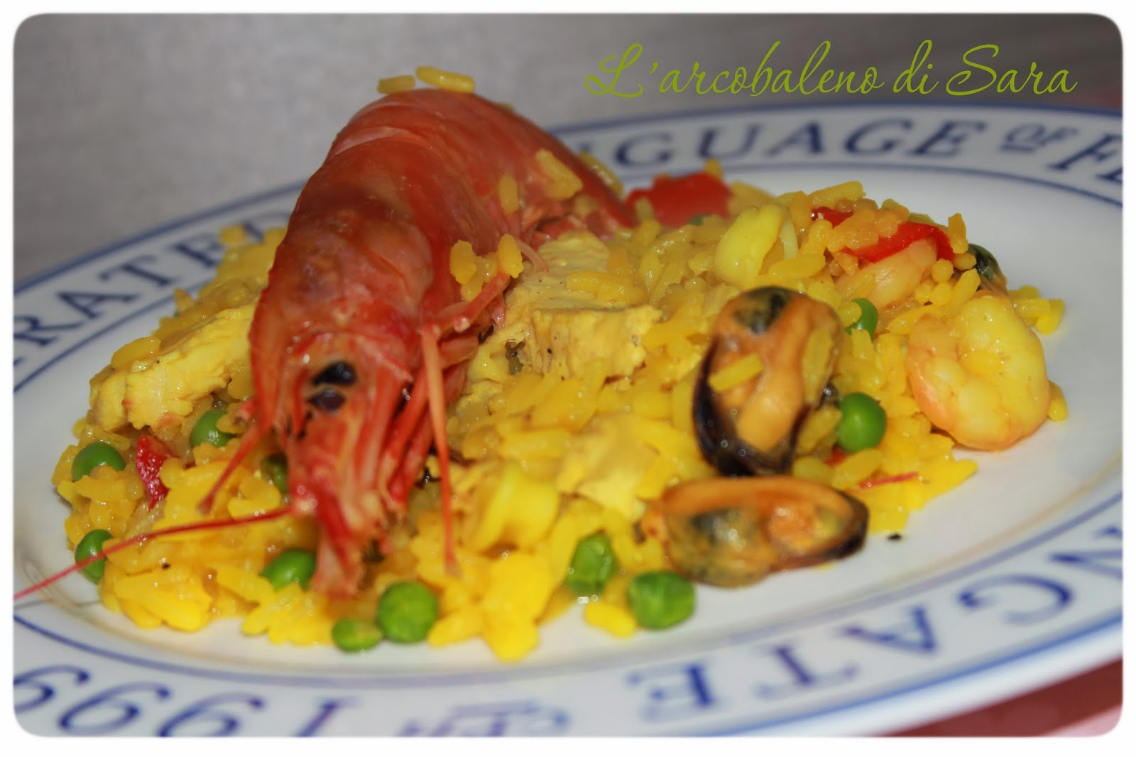 Paella valenziana light