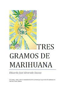 Tres gramos de marihuana