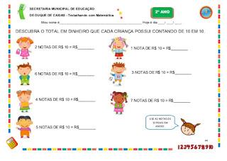 caderno atividades pedagogicas matematica 2 ano