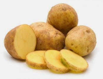 mencerahkan wajah dengan masker kentang