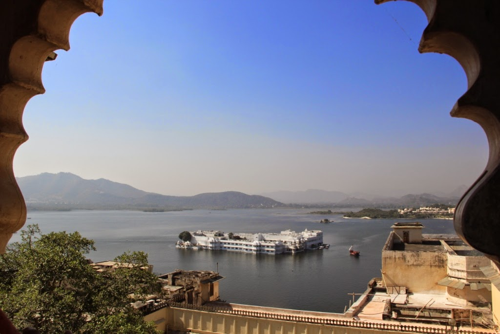 Lake Pichola from City Palace