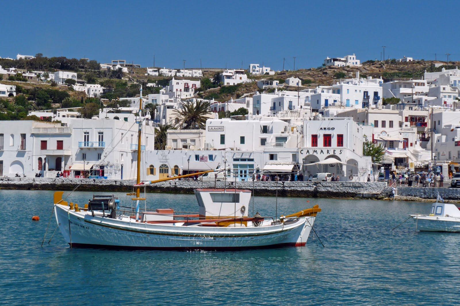 ScheckTrek: DAY 10 - Delos & Mykonos, Greece (Oceania Cruise)