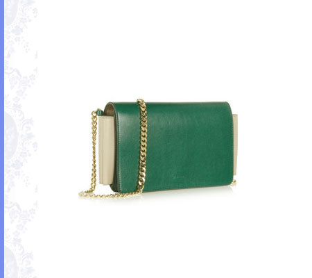 Grace Intemporelle: Jil Sander, Nepote leather shoulder bag