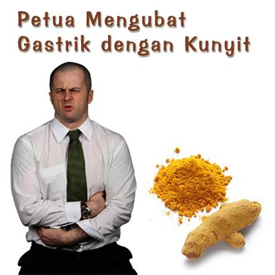 Petua Mengubat Gastrik - Kunyit