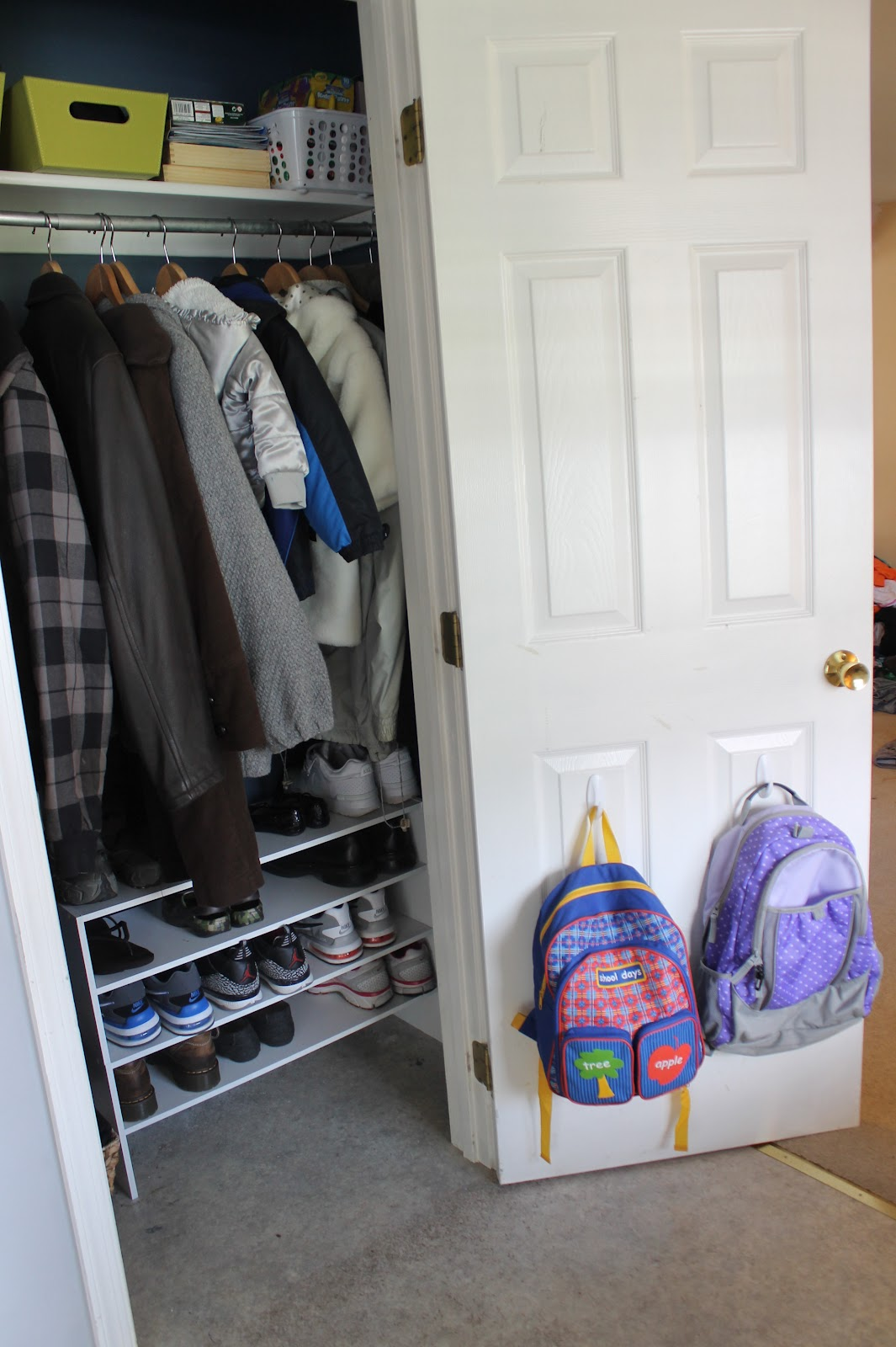 Coat Closet Transformation