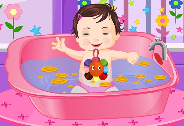 free kids games funny baby bath bathroomadventure. Black Bedroom Furniture Sets. Home Design Ideas