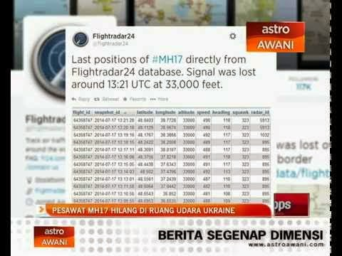 MH17 DITEMBAK