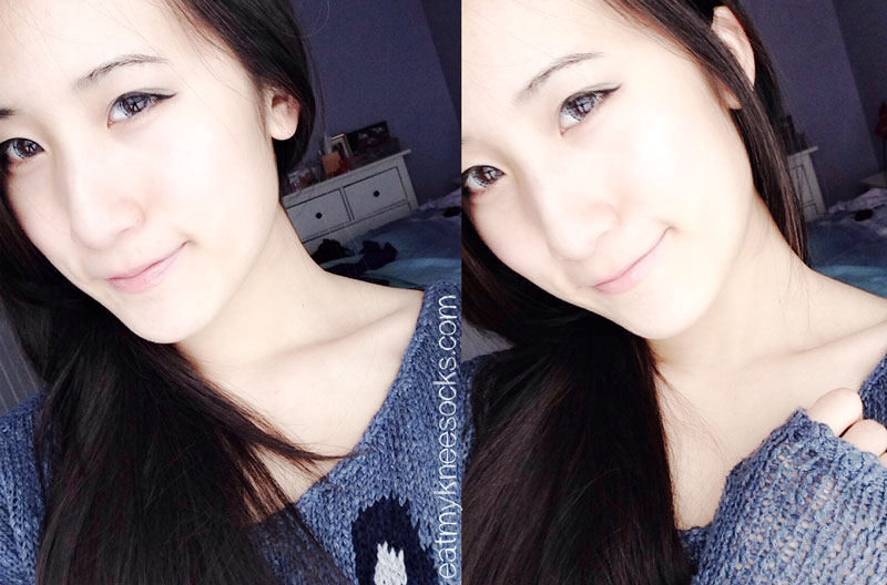 More photos of the EOS Ice Gray circle lenses from PinkyParadise, which really create an ulzzang-like enlargement effect.