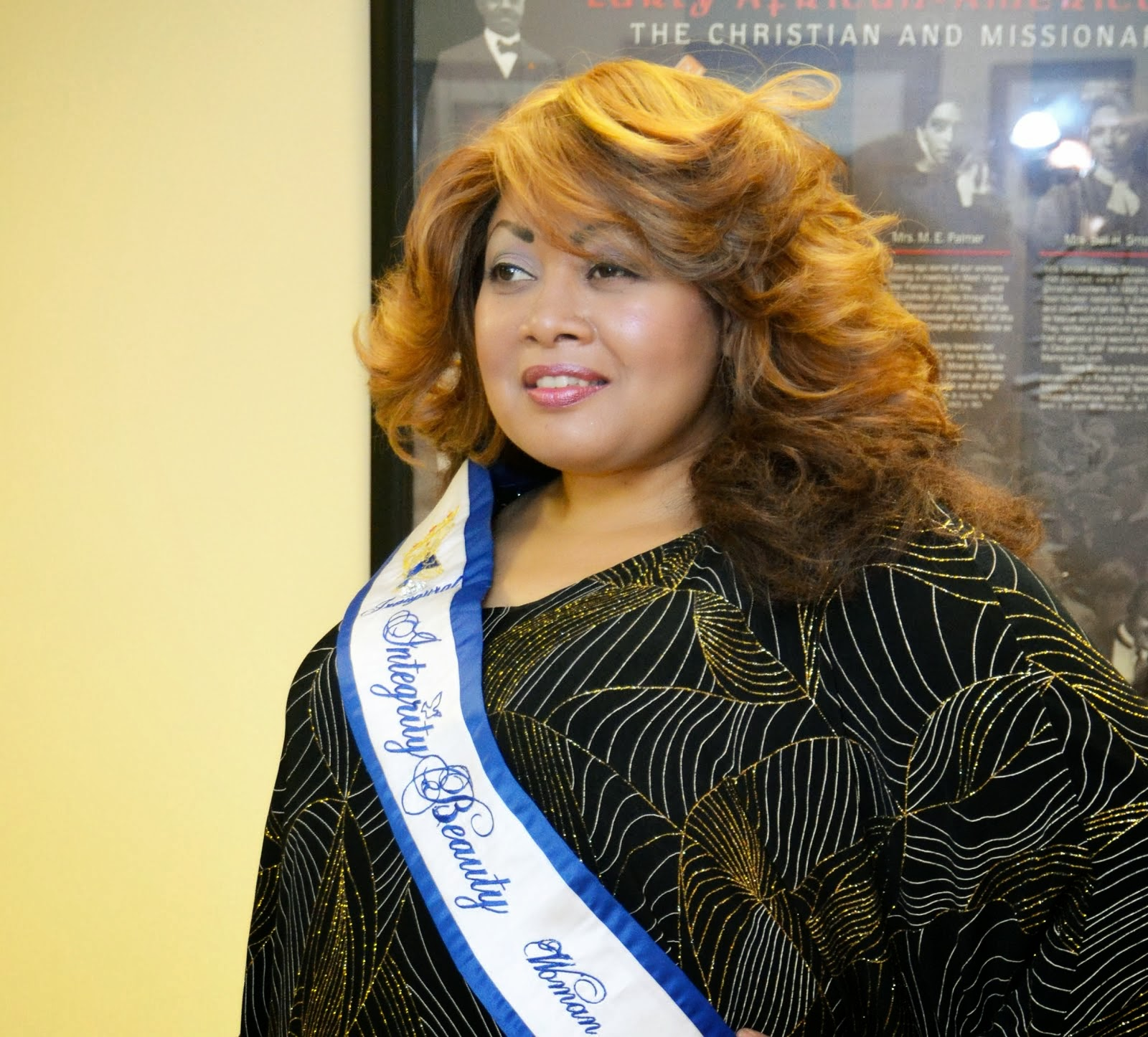 2013 National Spokesperson for Integrity Beauty Women of Excellence
