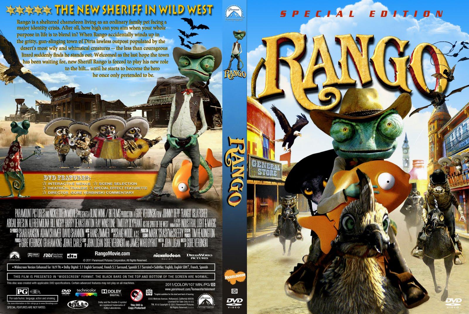 Download Rango BDRip 720p X264 Dublado Rango dvd cover