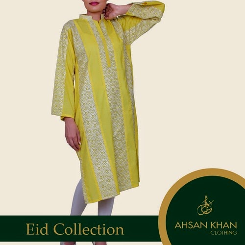 Ahsan Khan Eid Collection 2014 for Girls