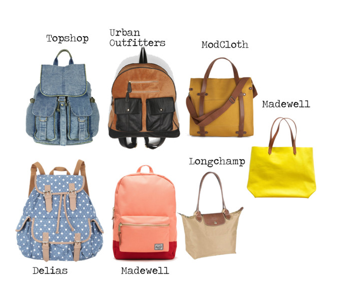 Different Types Of Book Bags