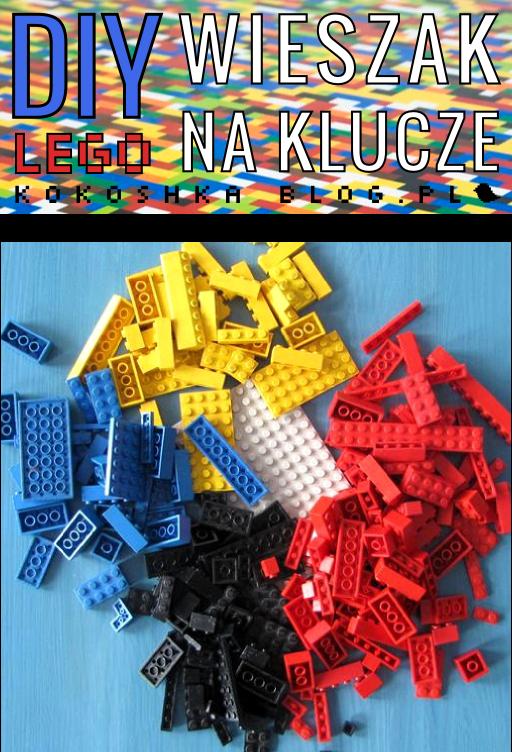 DIY: LEGO-wieszak na klucze