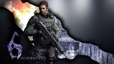 Chris Redfield Resident Evil 6 Wallpaper