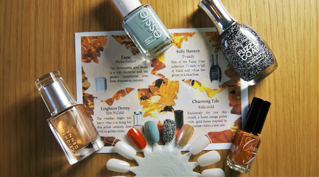 Coloristiq October Box Nail Varnishes