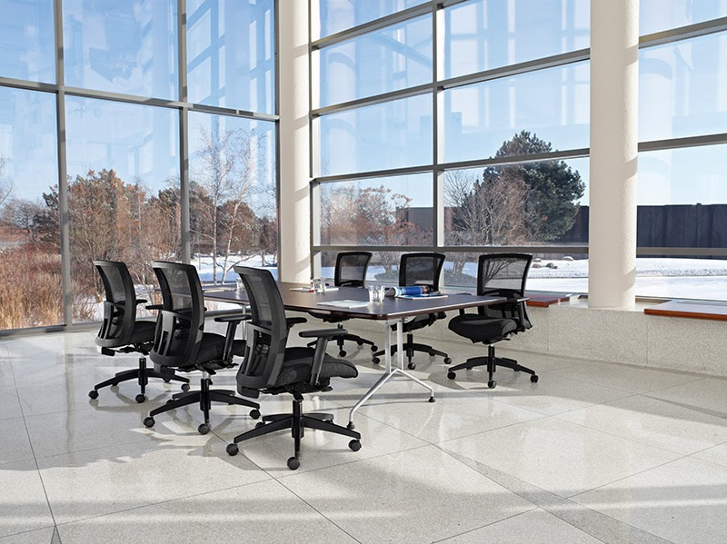 Comfortable Conference Room Seating