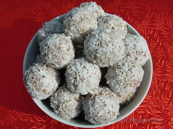 Coconut Hazelnut Balls