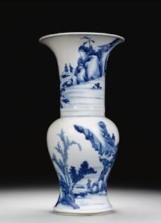 Kangxi Yen yen vases