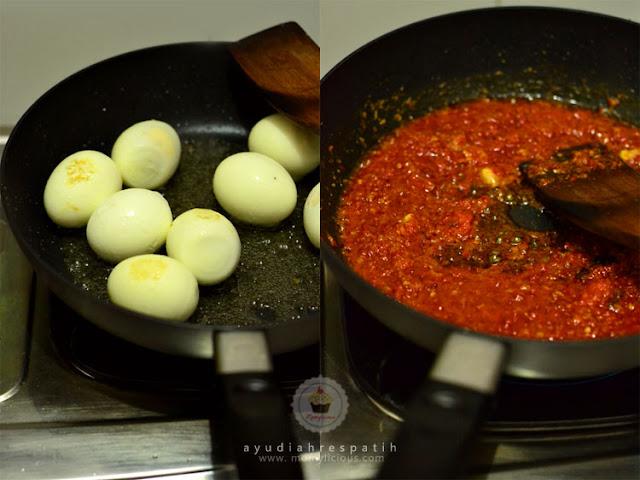 Memasak Telur Bumbu Bali dengan Wajan Hard & Light dari LOCK&LOCK