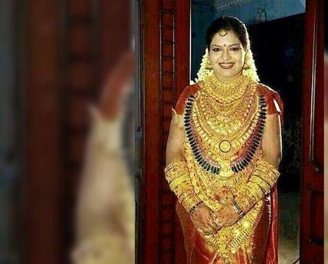 Menikah, Tubuh Perempuan Ini Dipenuhi Emas