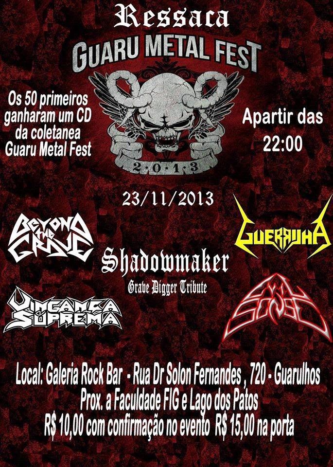 Ressaca Guaru Metal Fest