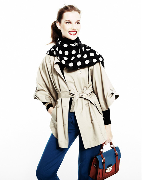 trench mujer 2011 2012