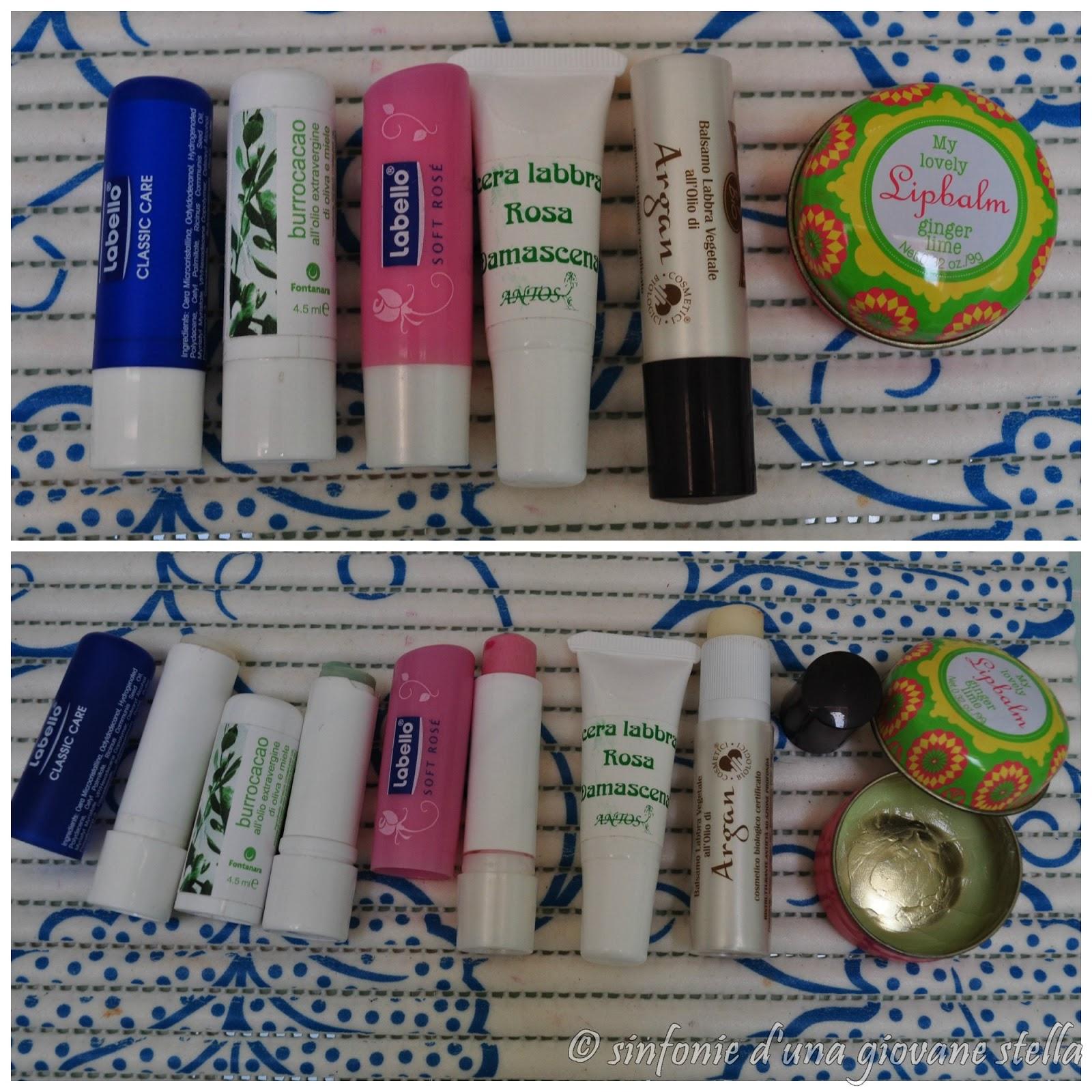 review & confronti ● i miei prodotti top per la cura della labbra
