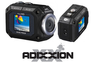 Click here for more information about the JVC ADIXXION camcorder