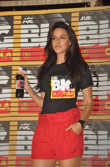 neha dhupia at the new logo launch of cola brand big cola. unseen pics