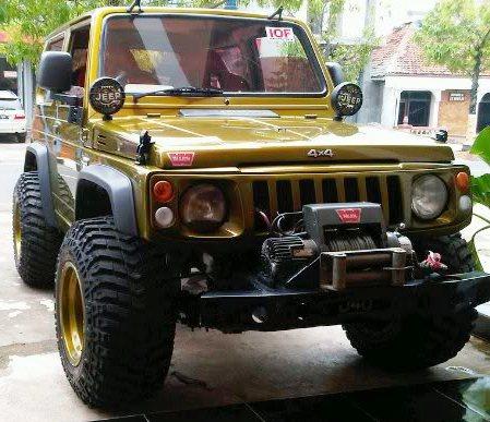 Showroom Resmi Mobil Suzuki: Konsep Jeep Suzuki