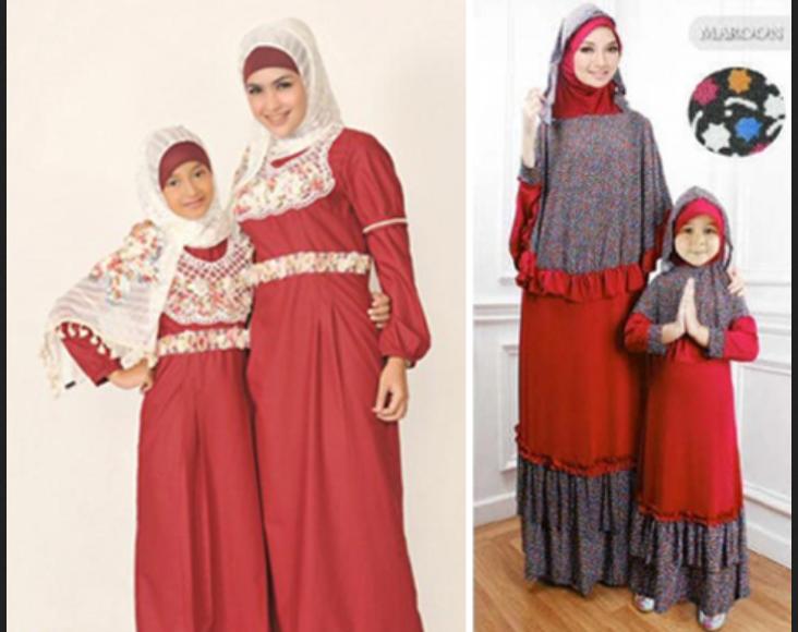 Model Baju Couple Ibu Dan Anak Perempuan