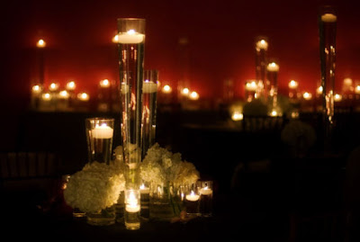 Night Candle Decoration Inspirations