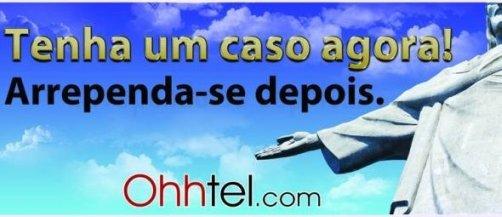 Anúncio do site The Ohhtel