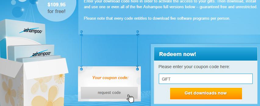 عرض : حصول على 5 برامج ثمنها 110$ مجانا من شركة Ashampoo
