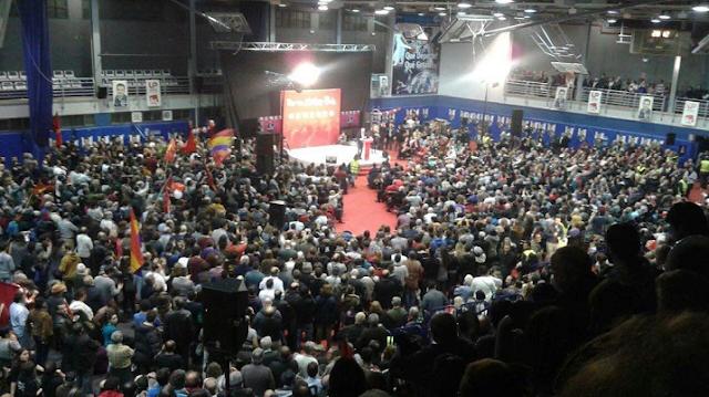 """Alberto Garzón: """"el domingo llenar las urnas de votos rojos de dignidad y coherencia"""""""
