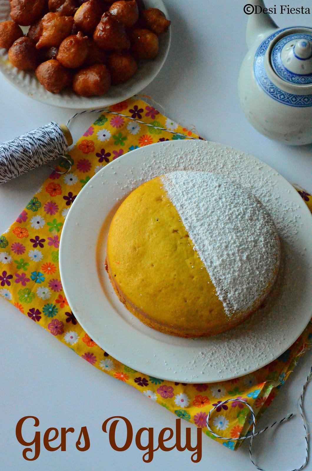 Kuwai saffron cake recipe