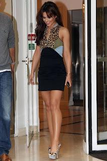 Cheryl Cole Leggy Candids