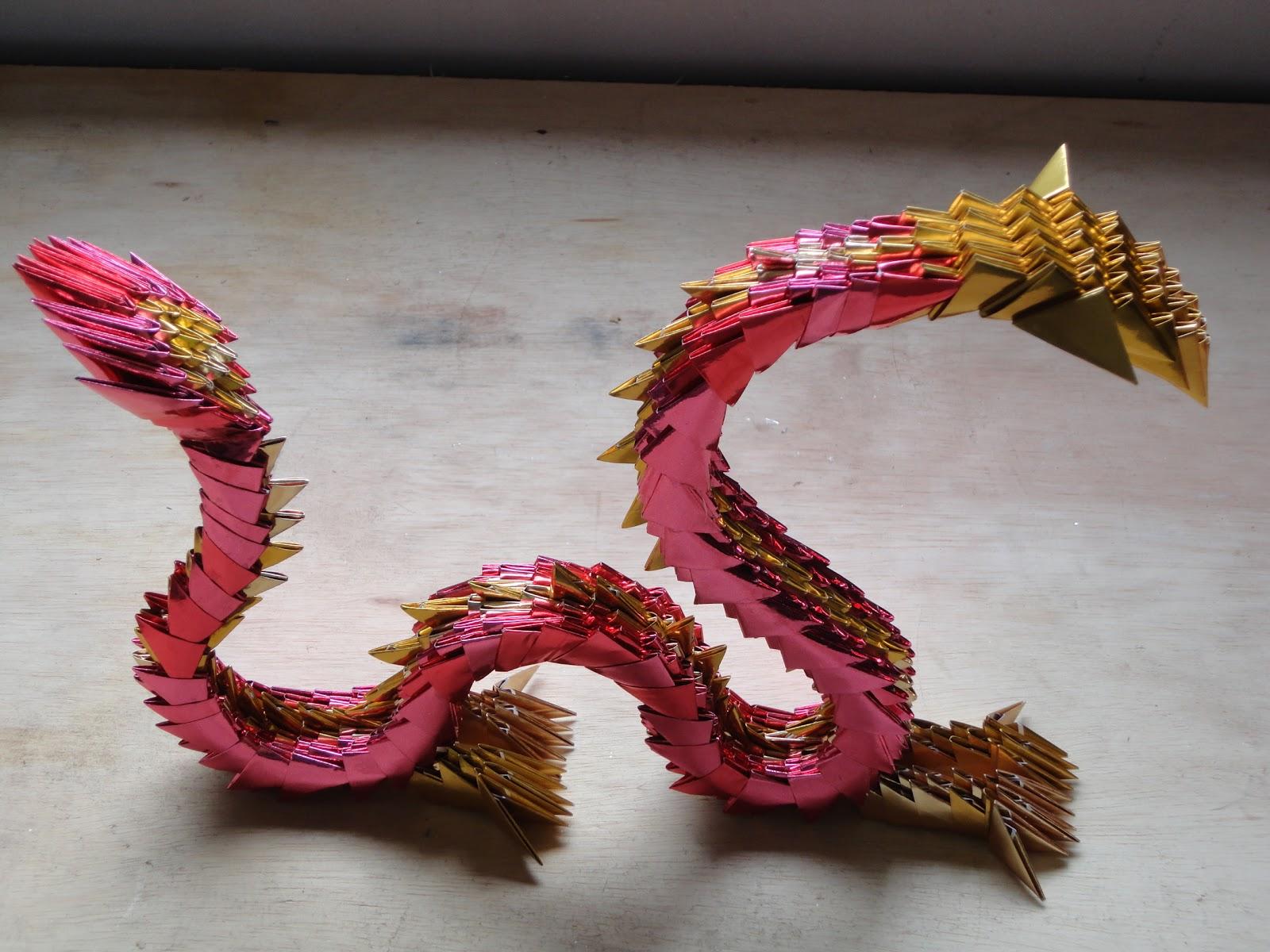 Papel Adesivo De Moveis ~ ILKA HARO Oriartes Artesanato japon u00eas Origami 2012 Ano do Drag u00e3o