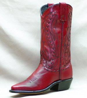 Cowboy Boots Red8